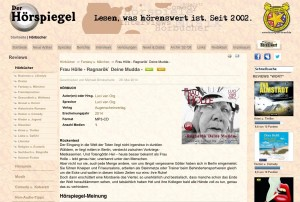 Frau Hölle - Rezension im Hörspiegel